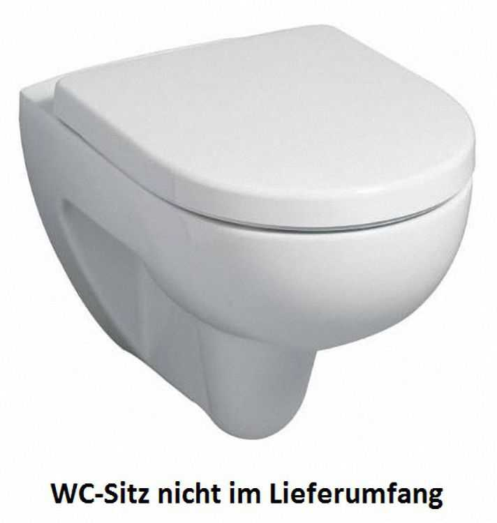 Renova Nr. 1 Tiefspül-WC spülrandlos 4,5/6 L wandhängend 540 m