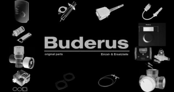 Buderus 6508580 Seitenteil Profil li V 33 350 RAL9016 ev