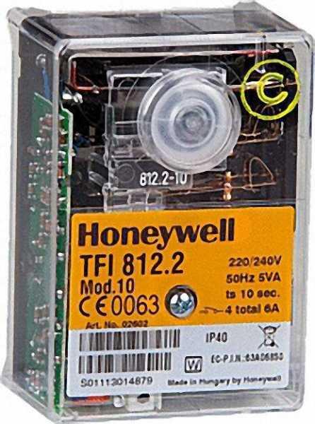 HONEYWELL-Gas-Feuerungsautomat-TFI-8122-Mod-10