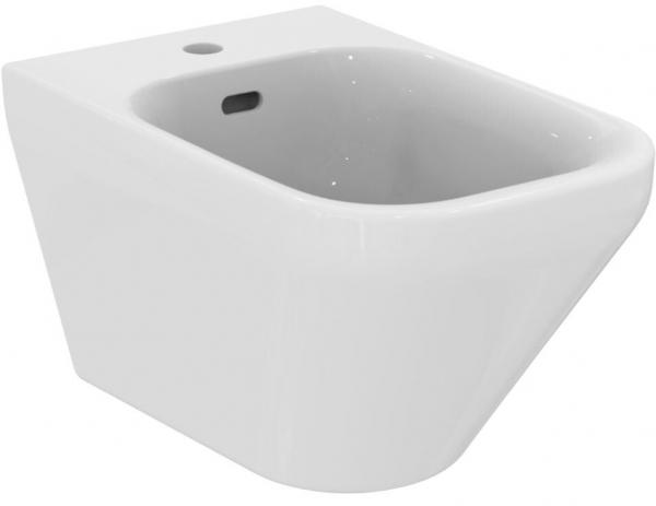 IDEAL STANDARD K523601 Tonic II Wand-Bidet, weiß, mit unsichtbarer Befestigung