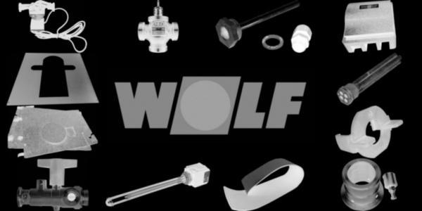 WOLF 2745910 Außenwandblende weiß