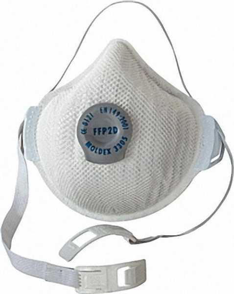 Atemschutzmaske FFP3 D Aktiv Form mit Klimaventil VPE 5 Stück