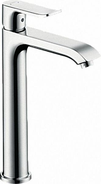 Einhebel-Waschtischmischer Serie Metris inkl Ablaufgarnitur ComfortZone 200, chrom