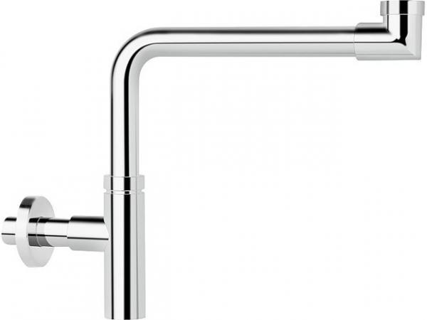 "Design Raumsparsiphon 1 1/4"", 32x100mm, Messing verchromt DN 32"