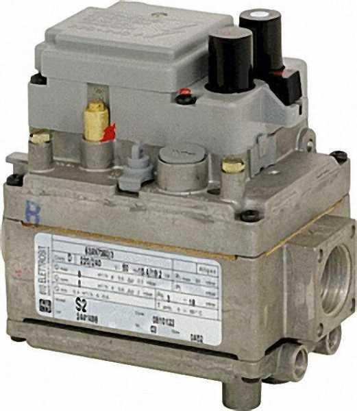 Gas-Kombiventil Elettrosit 810 3/4'', 220 V - 240 V mit Deckel Referenz-Nr.: 0.810.200