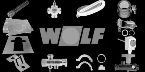 WOLF 8907137 Verkleidung seitlich links, Weiß
