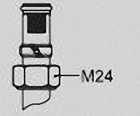 VIESSMANN 7452601 Klemmring-Verschraubung 16 x 2 x M24