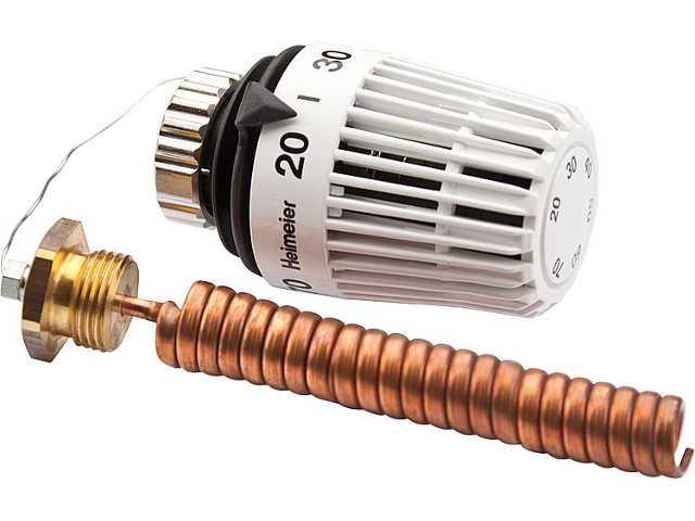 6672-00.500 Thermostat-Kopf K mit Wendel-Tauchfühler R1/2 x 1