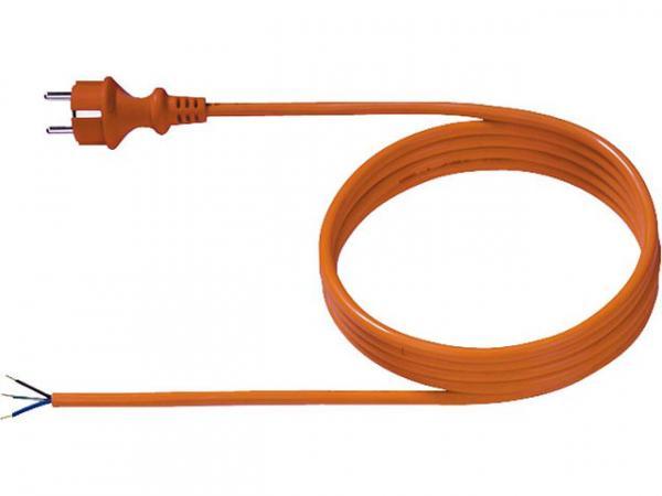 Schutzkontaktanschlussleitung 3,0m, H05BQ-F3G 1,0mm²