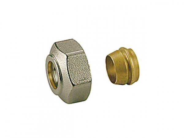 Giacomini R178E Adapter für Kupfer- und Weichstahlrohre mit Anschluss Eurokonus