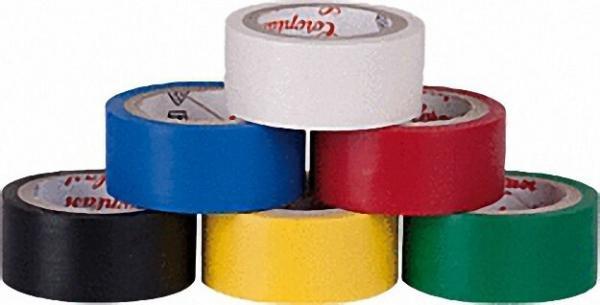 Coroplast Monostoffkarte 302 Isolierband, 6 Rollen, 19mm x 3, 3 m