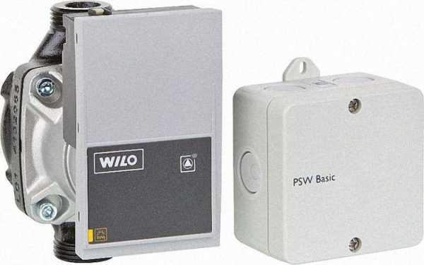 RESOL 18001180 Pumpensignalwandler PSW Basic-Set inkl. Pumpe Wilo Yonos Para 15/7 (130 mm)