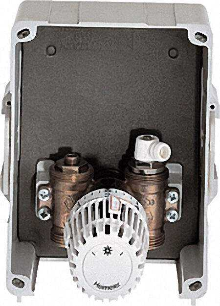 Multibox K Abdeckung und Thermostat-Kopf weiß