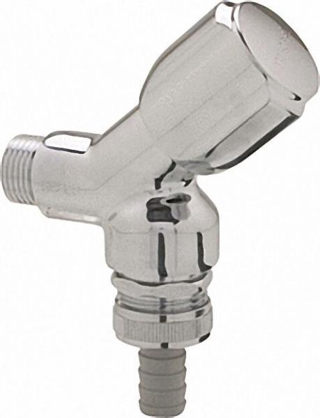Schell Geräteventil 1/2''chrom mit RV und Rohrbelüfter DIN-DVGW