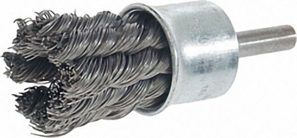 Pinselbürste gezopfür Stahldraht 0, 35mm 19mm, schaft 6,0mm