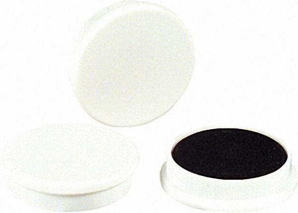 Organisationsmagnete Größe 30 x 8mm Farbe weiß, 1 Stück
