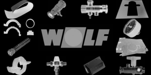 WOLF 1668221 Mantelisolierung vorne 1060mm