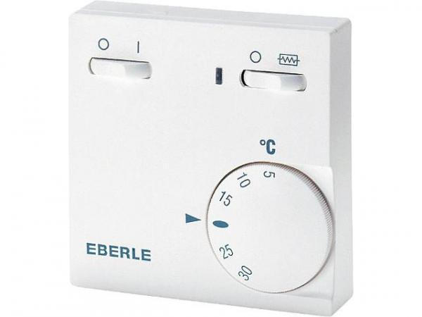 EBERLE Raumtemperaturregler Serie RTR-E 6181 5 . . . 30°C Netz EIN/AUS