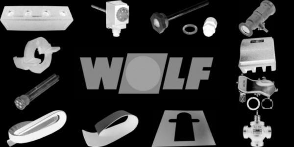 WOLF 8907138 Verkleidung oben, Weiß