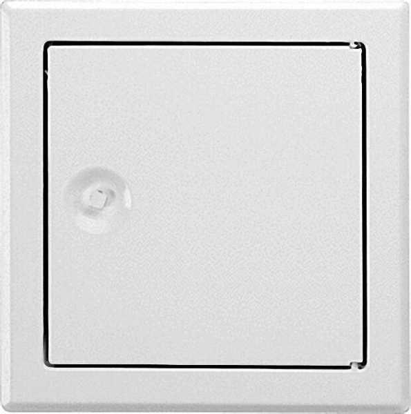 UPMANN Revisionstür SOFTLINE weiß mit Vierkantverschluss Einbaumaß 400 x 600mm