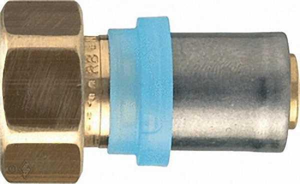 Pressfitting für MSVR Anschlusspressverschraubung, 16x2mm-1/2'', Flachdichtung