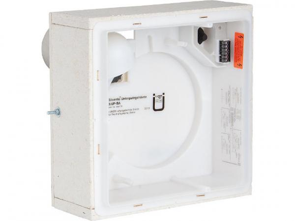 Lunos 039179 Unterputzgehäuse Silvento 3/UP BA Ablaufstutzen DN80 rück seitig m.Brandschutz