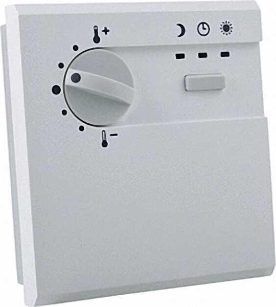 ACD01-Fernbedienung SDW 10 Temperatursollwertsteller +-6 K, Raumtemperaturfühler