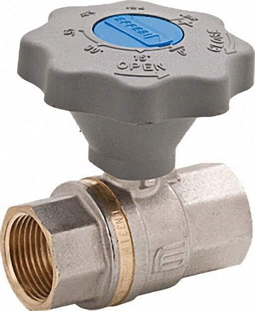 Kugelhahn 1 1/4''PN 16 DVGW geprüft für Wasser mit Sanftschlußgriff