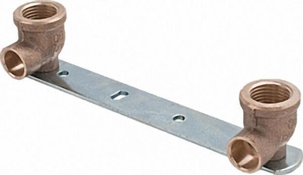 Montageeinheit flach 4977G 15x1/2'' mit 153mm