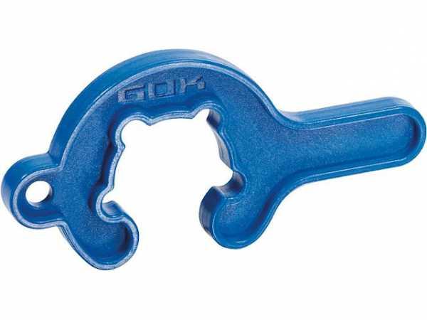 Montageschlüssel 'MiniTool' für Kleinflaschenregler im Blister
