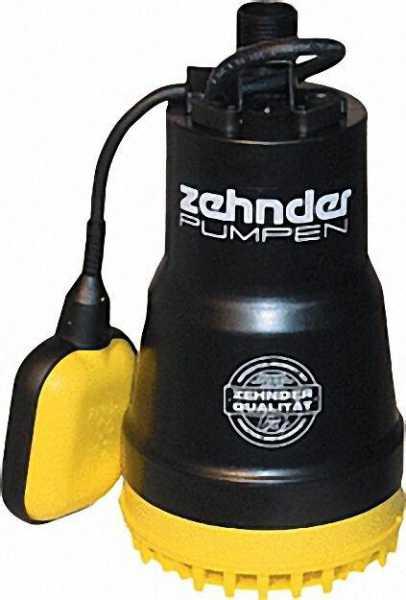 ZEHNDER 13181 Schmutzwassertauchpumpe ZM 280 A