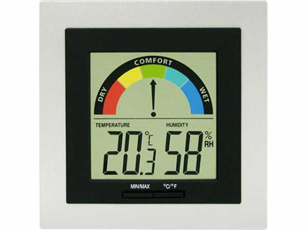 WS 9430 Thermo-Hygrometer inklusive Batterie