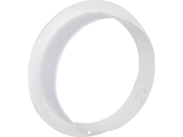66239 Anschlußstutzen weiß 100 mm