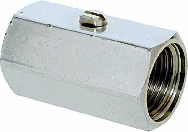 Mini-Kugelhahn mit Schraubenzieherbetätigung IGxIG 1/4'' x 1/4''