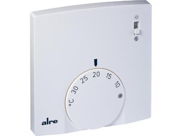 ALRE Raumtemperaturregler RTBSB-201,065 mit Umschalter, Schalter Heizen/Kühlen
