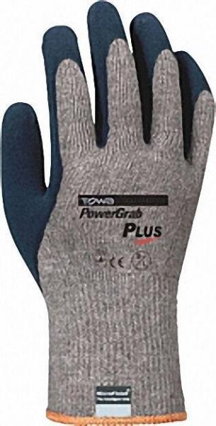 Mittelstrickhandschuh, Paar Power Grap Premium, Polyester/Baumwolle, Größe 10