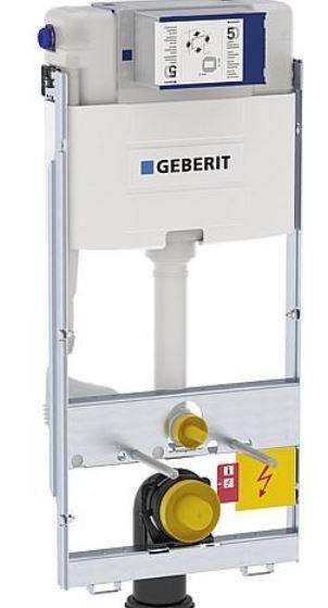 GEBERIT GIS Element für Wand-WC 114cm mit Omega UP-SPK 12cm Bet. vorne/oben