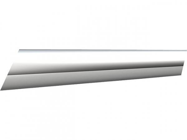 Stabilisationsstange Rohr glanzeloxiert Länge 100 mm Durchmesser 16mm