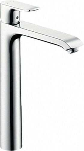 Einhebel-Waschtischmischer Serie Metris inkl Ablaufgarnitur ComfortZone 260, chrom