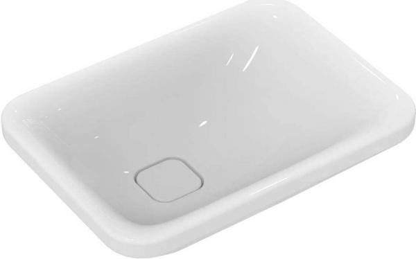 IDEAL STANDARD K083301 Tonic II Schale 55 x 40 cm, weiß asymmetrisch, ohne Überlauf