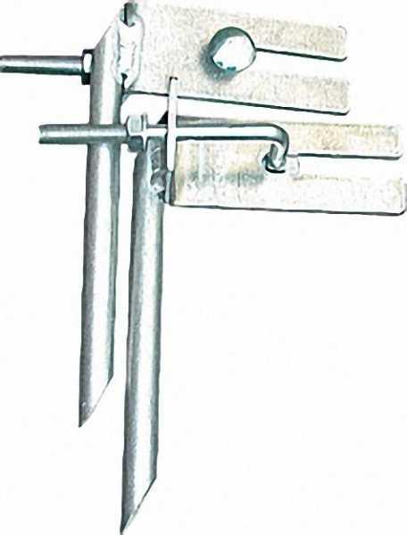 Leiternspitzen (Paar) für Holmquerschnitte 64x25mm bis 97x25mm