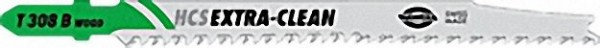 Stichsägeblätter, Holz T308BO HCS EXTRA-CLEAN VPE = 5 Stück