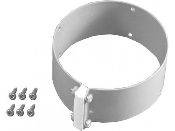 WOLF 2600420 Schelle für LuftrohrD 96, Breite 55 mmFarbe weiß