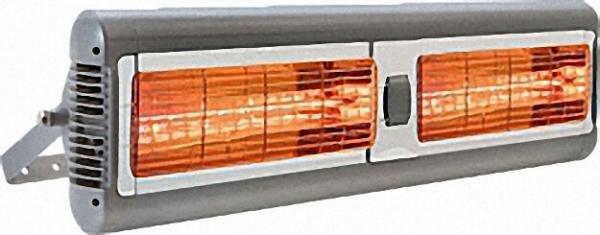 Infrarot-Quarzheizung Tansun Sorrento IP Double, 815 x 2528 x 323mm