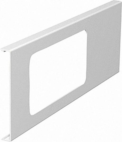 Oberteil für Gerätedose Länge 300mm, reinweiß Typ D 2-2/110 / 1 Stück