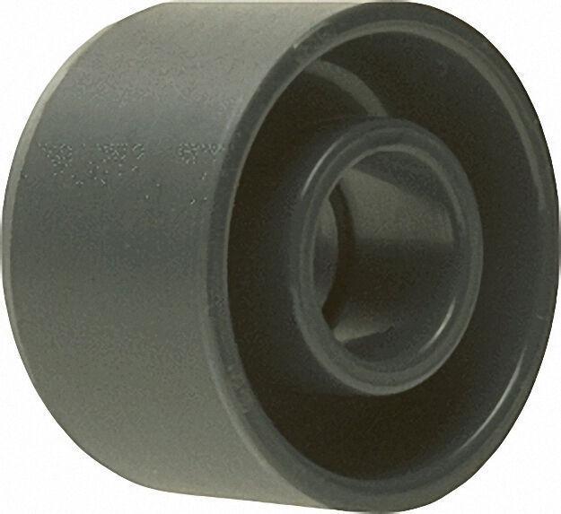 Pvc-u - Klebefitting Reduktion kurz, 90 x 63mm, mit Klebstutzen und Kl