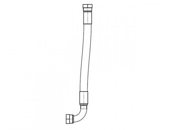 WOLF 2484774 Schlauch Rücklauf - Rundkühler GTK-4