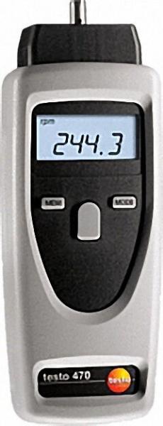 TESTO 0563 0470 /470-Set im Koffer inklusive Adapter, Hohlkegel Laufrad und Reflexmarken