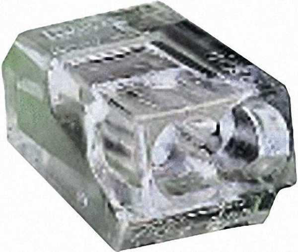 Verbindungsdosenklemmen 273 2-Leiter-Klemmen, transparent 2x1-2,5mm², VPE=100