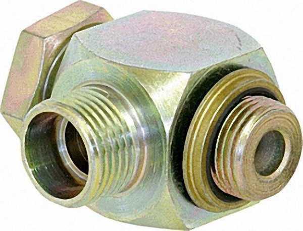Hochdruck-Winkel-Schwenkverschraubung WH12LRKDSOMDCF